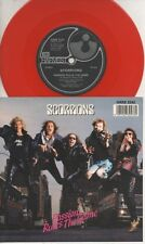 "THE SCORPIONS   Rare 1988 UK Only 7"" OOP Red Wax Rock P/C Single ""Passion Rules"""