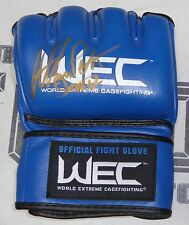 Anthony Pettis Signed Official WEC Fight Glove BAS Beckett COA UFC 164 Autograph