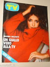 TV SORRISI CANZONI=1977/23=MARINA MALFATTI=ORZOWEI=RIN TIN TIN=SUPERMAN=CRAXI=