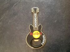 HARD ROCK CAFE BOTTLE OPENER. GOTHENBURG. BLACK.