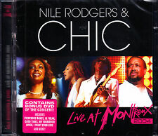 NILE RODGERS & CHIC live at montreux 2004 CD + DVD NEU OVP