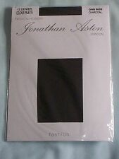Jonathan Aston 15 Denier One Size tights - Charcoal