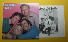Carroll O'Connor Jean Stapleton Rob Reiner Sally Struthers All in the Family LP