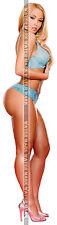 202 FRIDGE TOOL BOX MAGNET PIN UP GIRL STUNNING BLONDE BIG BUTT ROUND ASS LEGS