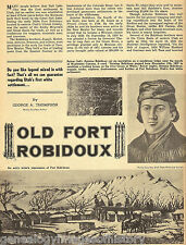 Utah's First Settlement Old Fort Robidoux w Furtrappers