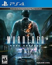 PLAYSTATION 4 PS4 GAME MURDERED SOUL SUSPECT BRAND NEW AND SEALED