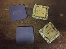 2PC INTEL R80286-12  68 CLCC PACKAGE 12Mhz 286 PROCESSOR