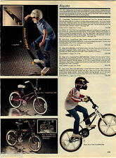 1984 ADVERT Long Rider Flexible Skate Board Columbia Pro Am BMX Bicycle Skates