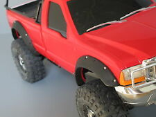 Front & Rear Rubber Fender Flares Guard Set Tamiya 1/10 Ford F-350 High Lift