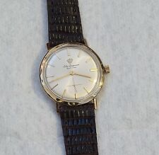 Handsome Jules Jurgensen 17j mechanical wristwatch, looks great and runs good