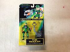 Batman Forever The Riddler Action Figure Kenner Toy ON CARD 1995 Movie DC Robin
