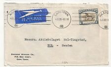 COVER SOUTH AFRICA CAPETOWN TO NOL SWEDEN. L464