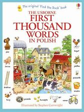 Usborne My First Thousand Words in Polish Book NEW