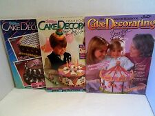 LOT 1980s Wilton Cake Decorating Yearbook 1983 1984 1985 How To Decorate Use Tip