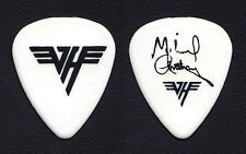 Van Halen Michael Anthony Signature White Guitar Pick - 1986 5150 Tour