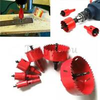 Hole Saw Tooth HSS Steel Holesaw Drill Bit Cutter Tool for Metal Wood Alloy NEW