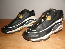 Retro Black-Gold-White REEBOK Allen Iverson DMX 10 The Answer-1 OG Sneakers 10.5
