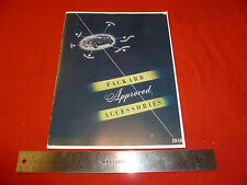 1946 Packard Accessory Catalog