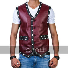 The Warriors Movie Faux Leather Vest Bike Rider Halloween Costume