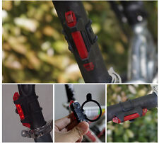 Cycling Night Super Bright Red 5 LED Rear Tail Light Bike Bicycle 4 Modes Lamp