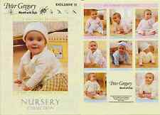 Peter Gregory Kinderzimmer Kollektion Baby Strickbuch DK & 4-lagig Muster