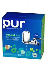 PUR Faucet Water Filter System Mineral Clear FM-3700B Chrome clean fresh water