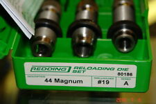 REDDING 44 REMINGTON MAGNUM RELOADING DIE SET #80186
