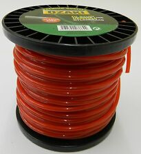 120m DR Strimmer Cord Line Wire String Nylon 4mm Round Petrol TRIMMER HEAVY DUTY