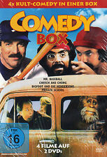 DOPPEL-DVD - Comedy Box - 4x Kult-Comedy - Mr. Baseball, Cheech And Chong u.a.