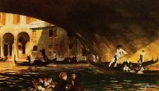 John Singer Sargent The Rialto Oil Painting repro