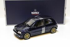 1:18 NOREV renault clio williams 1993 Blue New chez premium-MODELCARS