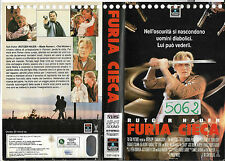 FURIA CIECA (1989) vhs ex noleggio