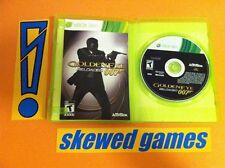 Goldeneye Golden Eye 007 Reloaded - XBox 360 Microsoft COMPLETE