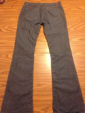 Women's Hugo Boss Jeans Size 29 Long. Red Label Flare Dark HW90 Italy