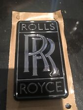RARE GENUINE Rolls Royce Black Badge Emblem LIMITED EDITION UK GHOST WRAITH