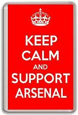 KEEP CALM AND SUPPORT ARSENAL, ARSENAL FC FOOTBALL TEAM Fridge Magnet