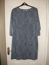 ladies blue dress ex Per Una size 18 NEW