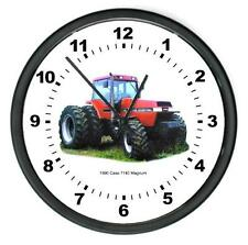 "New 1990 RC CASE Model 7140 Magnum Tractor Wall CLOCK 10"" Round Years 1990"