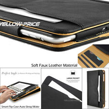 Luxury Leather Folio Stand Case Smart Cover Pouch for Apple iPad Air/ iPad Air 2