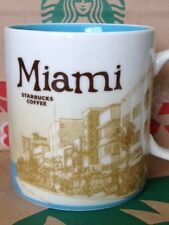 NEW Starbucks MIAMI Icon 16 oz mug RARE! DISCONTINUED!