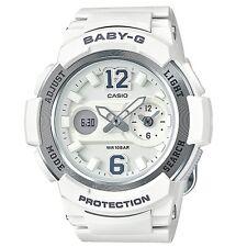 Casio Baby-G BGA210-7B4 White Silver Digital Analog Women's BGA-210-7B4 Watch