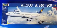 REVELL LUFTHANSA  4214 AIRBUS A340 300 Model KIT 1:144 Scale RARE OBO.