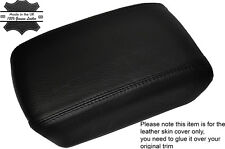 BLACK STITCHING LEATHER ARMREST SKIN COVER FITS NISSAN X-TRAIL T31 2008-2014