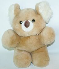 Vintage 1985 Animal Toy Imports Inc Plush Koala Bear Soft 14""