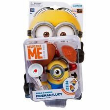 Despicable Me Minion Made Deluxe Build-a-Minion - FIREMAN / LUCY - New in stock