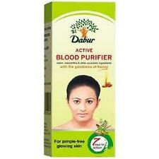 Dabur Active Blood Purifier For Pimple Fre Glowing Skin - 200 ml (Pack of 2 )