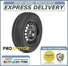 "VAUXHALL ZAFIRA B 2010-2016 16"" FULL SIZE STEEL SPARE WHEEL AND TYRE"