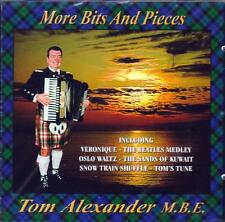TOM ALEXANDER M.B.E. -  MORE BITS AND PIECES (NEW SEALED CD)