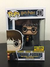 Funko Pop HARRY POTTER 31 ROBES & HEDWIG *GOOD BOX* Hot Topic Exclusive #31