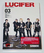 SHINee - LUCIFER (JAPAN 3rd Single) [CD+DVD Limited Type-B] Photobook+Photocard